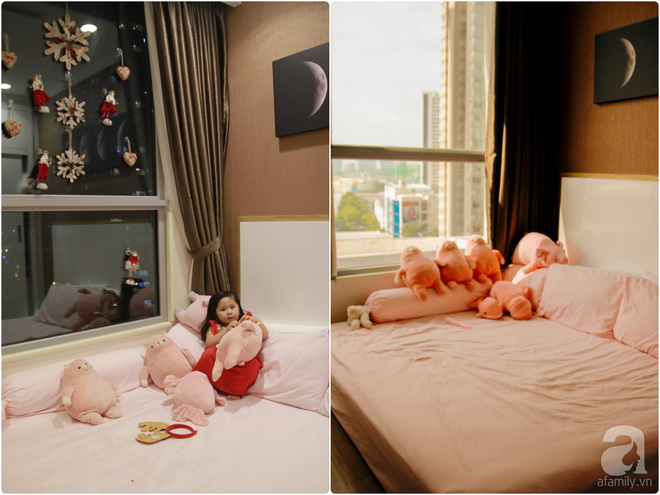 Căn hộ được trang trí Noel đẹp lung linh, món quà của người mẹ tặng con gái ở Q7, Sài Gòn - Ảnh 11.