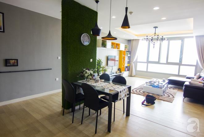 Căn hộ 83m² thoáng mát và ấn tượng với chi phí thi công 100 triệu đồng ở Hà Nội - Ảnh 1.