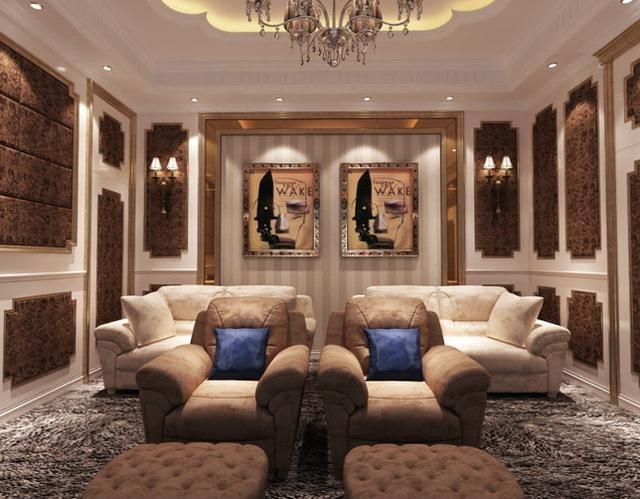 Choáng ngợp với biệt thự thiết kế theo phong cách châu Âu của Lý Thần và Phạm Băng Băng - Ảnh 10.