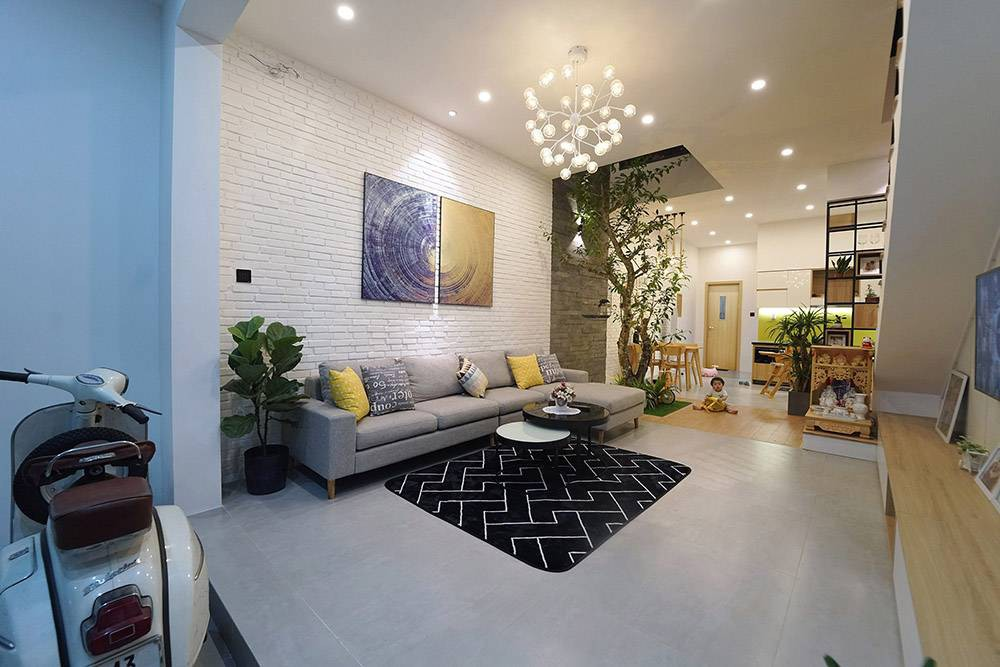 Ngôi nhà trẻ trung, ấm cúng của cặp vợ chồng trẻ với chi phí 950 triệu ở Đà Nẵng - Ảnh 4.
