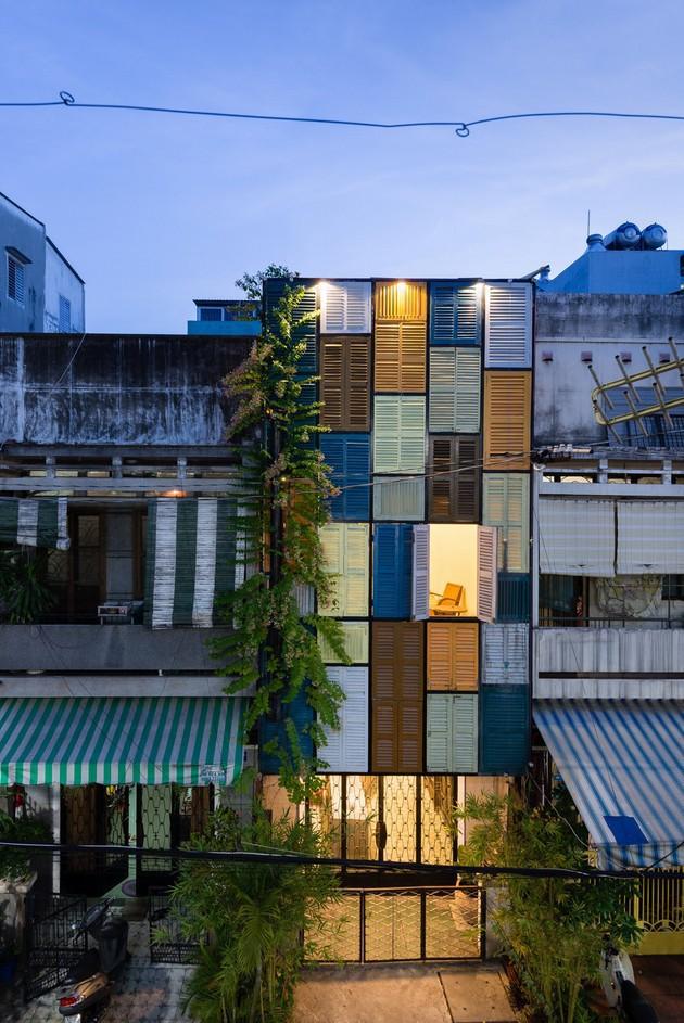 Ngôi nhà ống hơn 50 năm dầm mưa dãi nắng nay lột xác đẹp đến ngỡ ngàng ở quận 3, Sài Gòn - Ảnh 15.