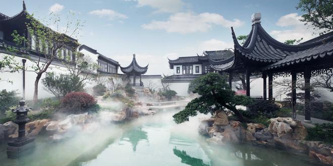Mê mẩn trước căn biệt thự đẹp như chốn bồng lai tiên cảnh của tỷ phú Jack Ma - Ảnh 8.