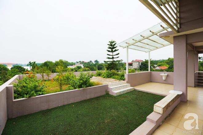 Ngôi nhà vườn xanh mát bóng cây của nữ giảng viên đại học chỉ cách Hà Nội 30 phút chạy xe - Ảnh 12.