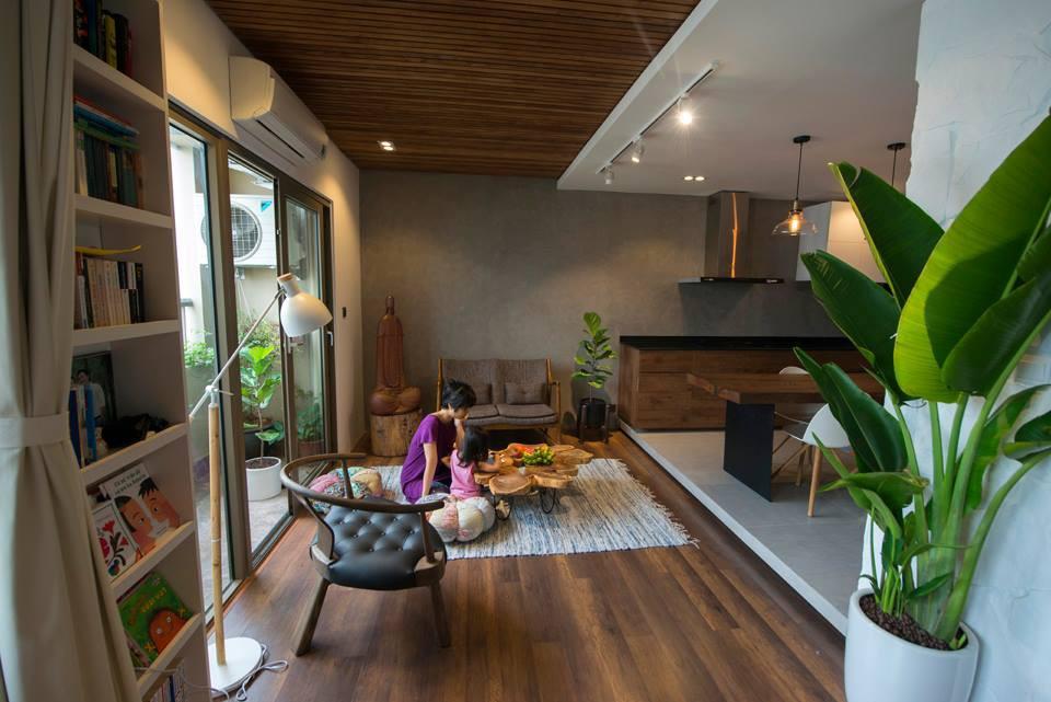 Sau cải tạo, căn hộ 68m² ở Hà Nội này đã trở thành không gian sống kiểu mẫu của nhiều gia đình trẻ - Ảnh 8.
