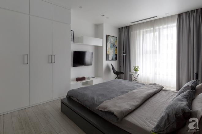 Căn hộ đen trắng 100m² đẹp như nhà trên báo nước ngoài với tổng chi phí 850 triệu đồng ở Thanh Xuân, Hà Nội - Ảnh 17.