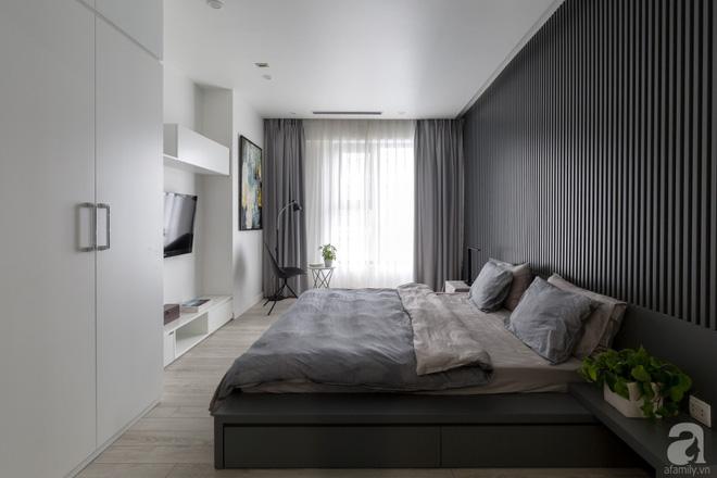 Căn hộ đen trắng 100m² đẹp như nhà trên báo nước ngoài với tổng chi phí 850 triệu đồng ở Thanh Xuân, Hà Nội - Ảnh 18.
