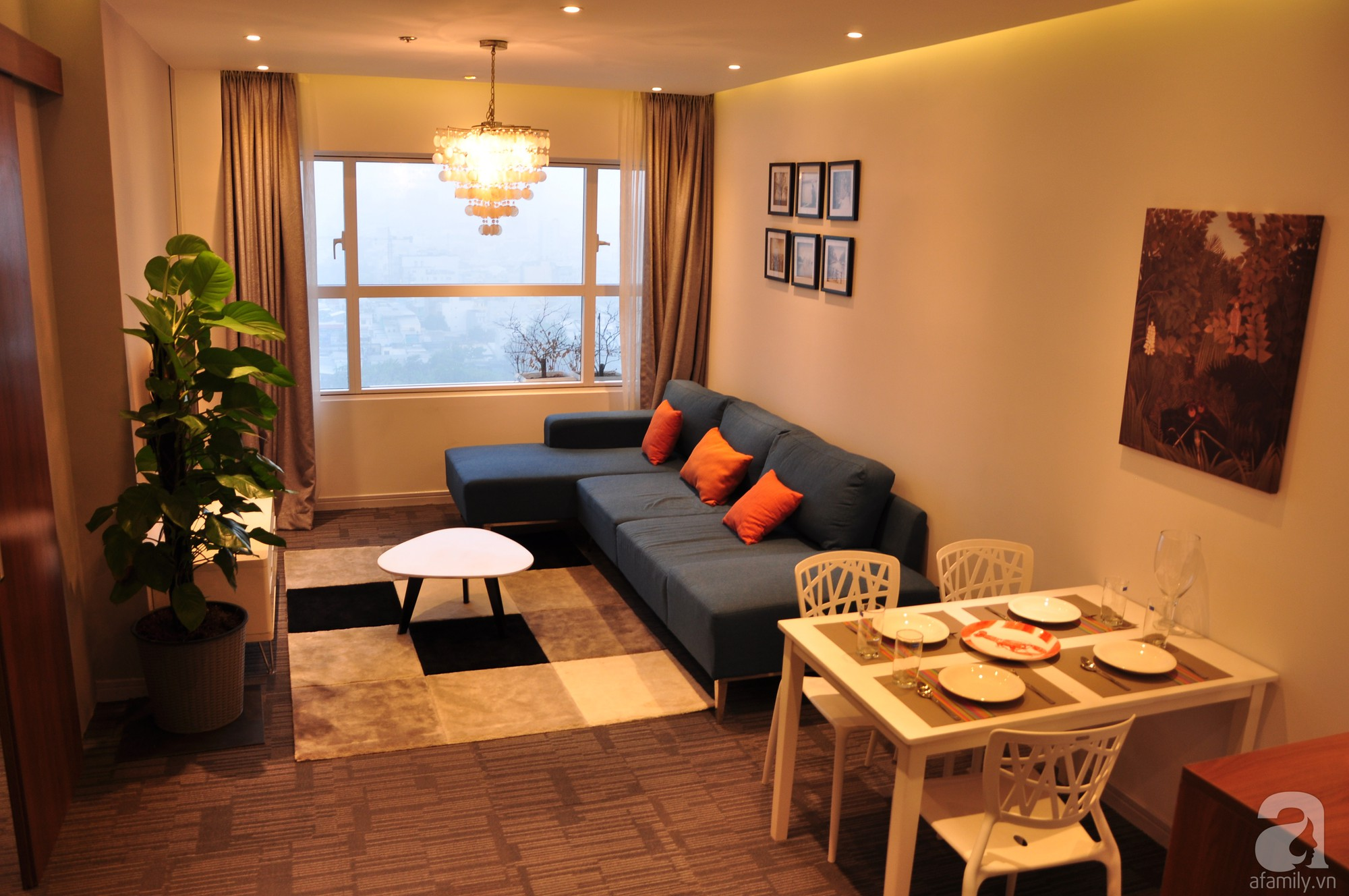 Căn hộ nhỏ 55m² ở quận 7, Sài Gòn nổi bật phong cách tận hưởng cuộc sống do anh chàng độc thân tự tay bố trí nội thất - Ảnh 5.