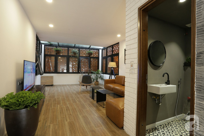 Ngôi nhà ống 58m² ở Hà Nội đẹp như nhà ở châu Âu sau khi cải tạo - Ảnh 12.