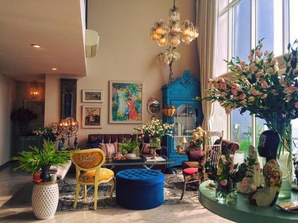 Ngắm hai căn hộ xa hoa bậc nhất showbiz Việt của nhà thiết kế Lý Quí Khánh - Ảnh 5.