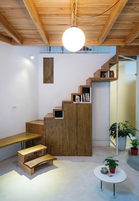 Ngôi nhà 30m² ở Tây Hồ, Hà Nội cho thấy: Khi hiện đại gặp xưa cũ sẽ tạo nên điều vô cùng kì diệu - Ảnh 6.