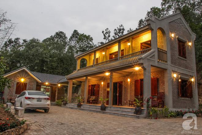 Ngôi nhà vườn hoài cổ với mái nhuốm màu thời gian bình yên giữa núi đồi Bắc Ninh - Ảnh 3.