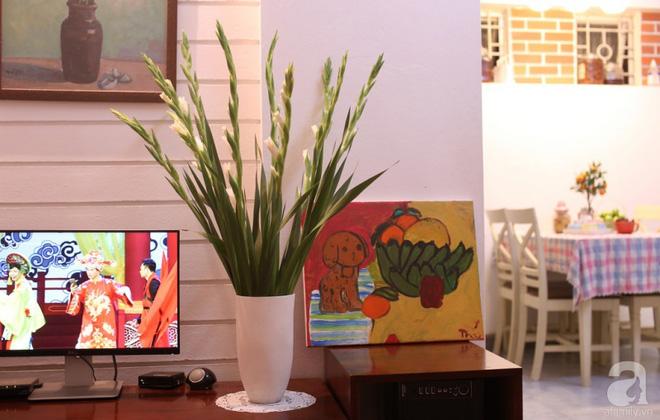 Ngôi nhà phố góc nào cũng xinh xắn và lãng mạn với hoa tươi của người phụ nữ Hà Thành - Ảnh 15.