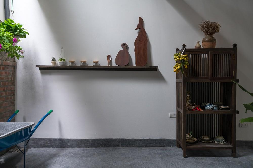 Sau những mất mát to lớn, ngôi nhà tổ chim ở Hà Nội này là chốn đi về yên bình của 3 mẹ con - Ảnh 6.