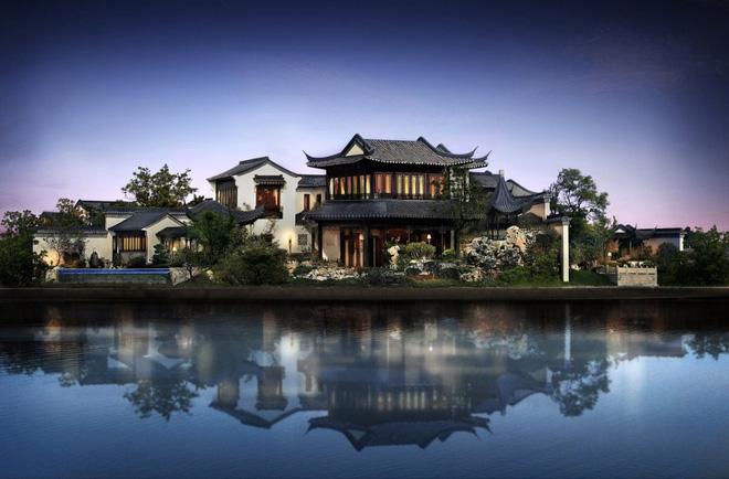Mê mẩn trước căn biệt thự đẹp như chốn bồng lai tiên cảnh của tỷ phú Jack Ma - Ảnh 1.