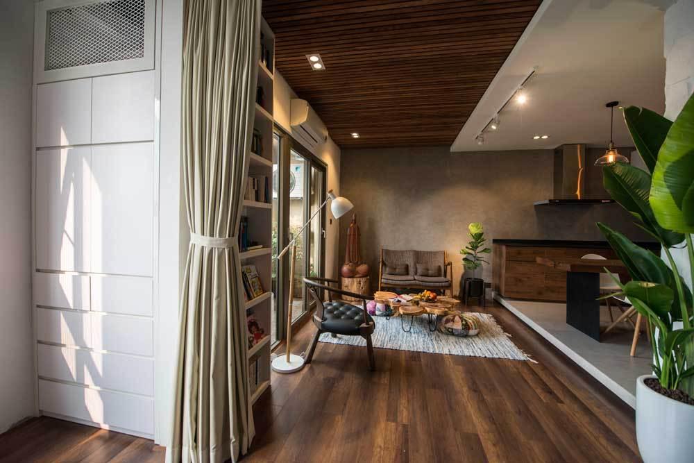 Sau cải tạo, căn hộ 68m² ở Hà Nội này đã trở thành không gian sống kiểu mẫu của nhiều gia đình trẻ - Ảnh 6.