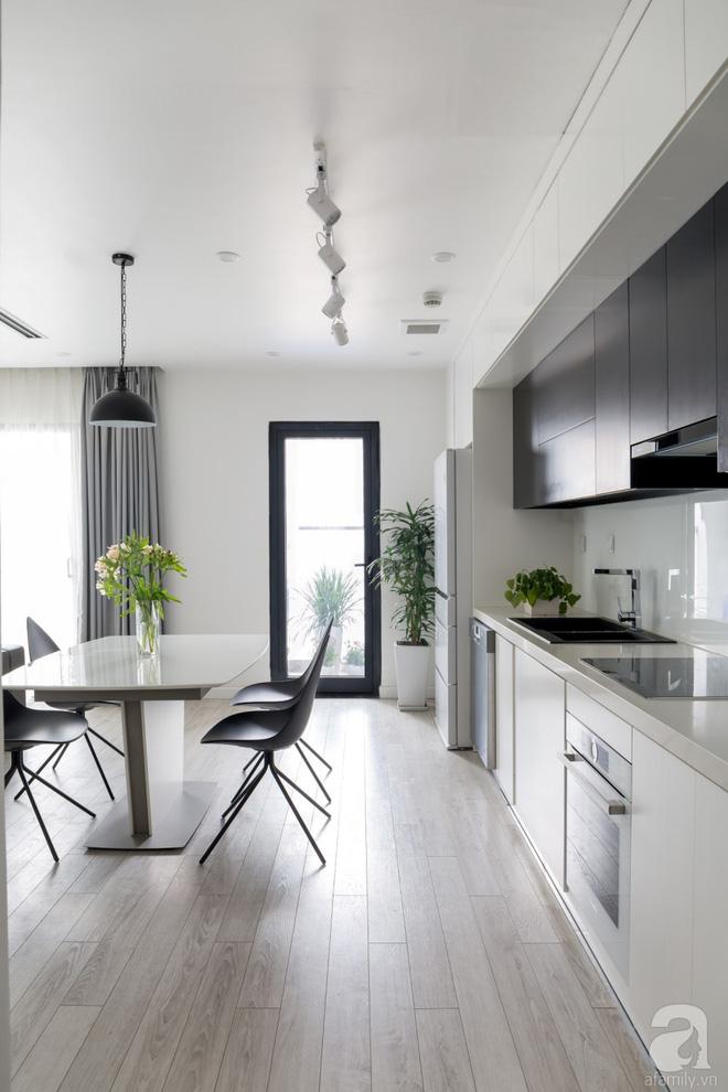 Căn hộ đen trắng 100m² đẹp như nhà trên báo nước ngoài với tổng chi phí 850 triệu đồng ở Thanh Xuân, Hà Nội - Ảnh 13.