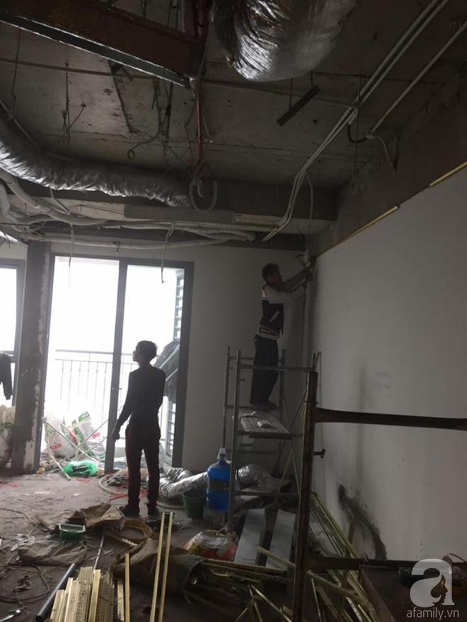 Gần 500 triệu đồng thi công, căn hộ 72m² ở Hà Nội thực sự là không gian sống đáng mơ ước của bao người - Ảnh 2.