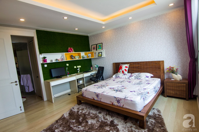 Căn hộ 83m² thoáng mát và ấn tượng với chi phí thi công 100 triệu đồng ở Hà Nội - Ảnh 14.