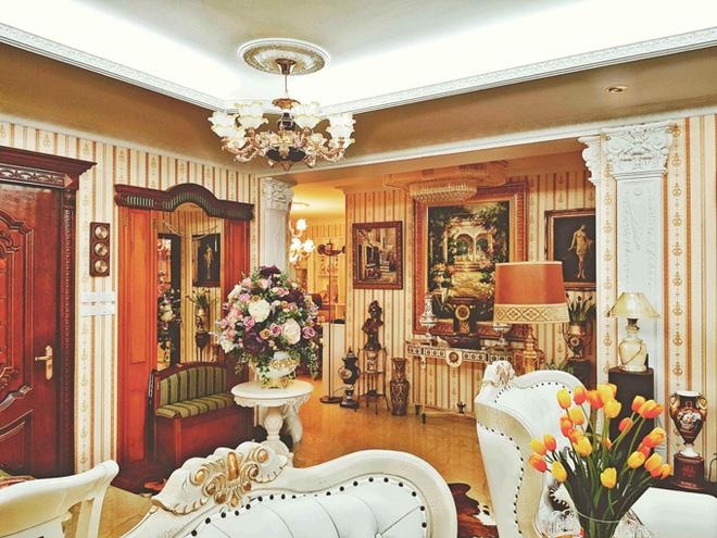 Chiêm ngưỡng ngôi nhà dát vàng triệu đô của nam ca sĩ Nathan Lee ở Hà Nội - Ảnh 12.