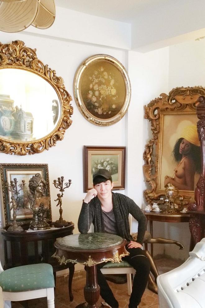 Chiêm ngưỡng ngôi nhà dát vàng triệu đô của nam ca sĩ Nathan Lee ở Hà Nội - Ảnh 7.