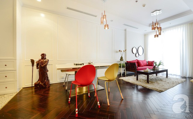 Căn hộ 99m² vừa chất, vừa có kho lưu trữ khủng với chi phí cải tạo 300 triệu đồng ở Hà Nội - Ảnh 3.