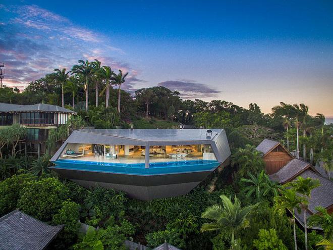 Choáng ngợp với căn biệt thự đạt giải Nhất về kiến trúc vì tiện nghi hoàn hảo như một khu nghỉ dưỡng - Ảnh 1.