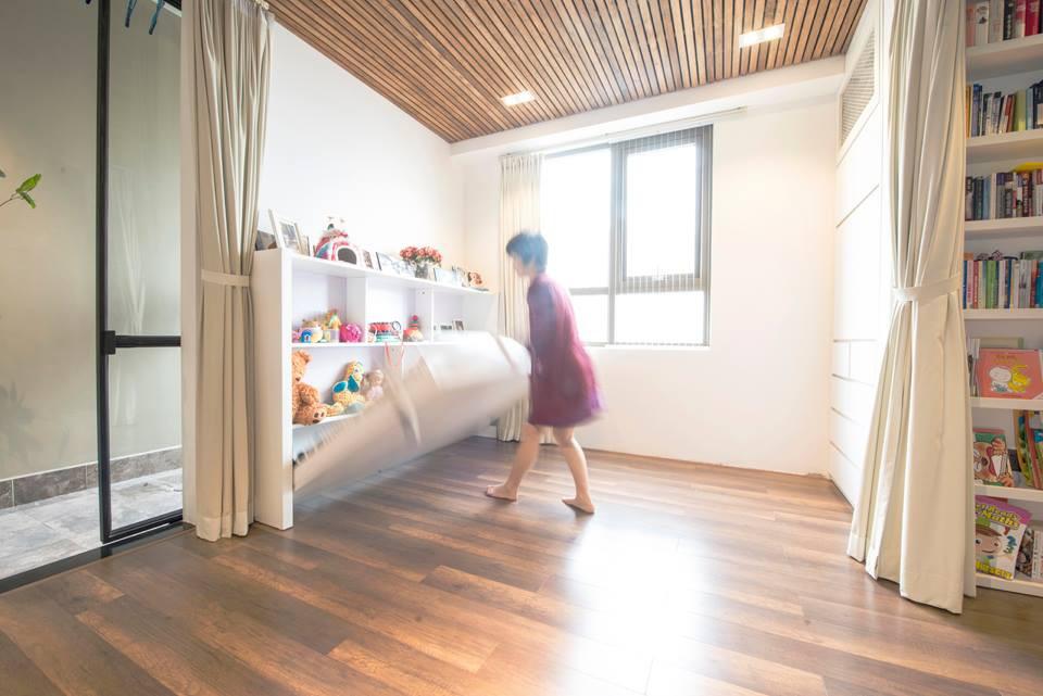 Sau cải tạo, căn hộ 68m² ở Hà Nội này đã trở thành không gian sống kiểu mẫu của nhiều gia đình trẻ - Ảnh 10.
