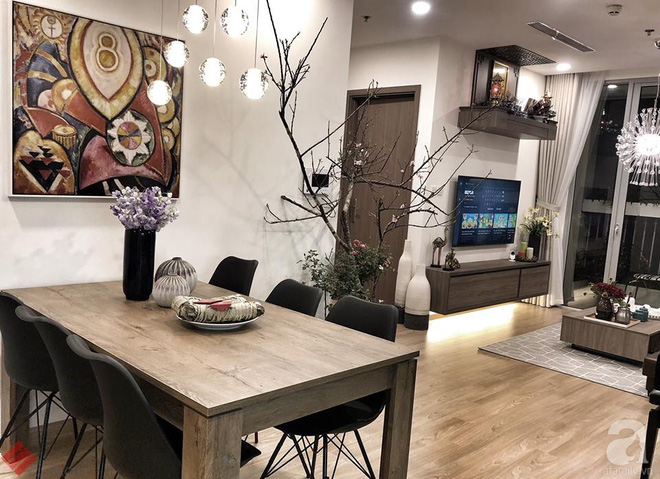 Tận hưởng cuộc sống đúng nghĩa trên tầng cao trong căn hộ nhỏ 72.6m² đẹp như căn hộ mẫu ở Hà Nội - Ảnh 6.