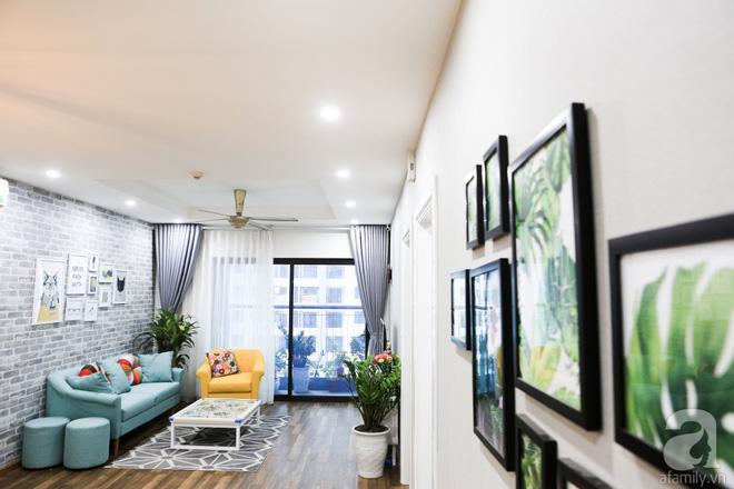 Căn hộ 110m² góc nào cũng xinh của vợ chồng trẻ tự tay thiết kế - Ảnh 2.