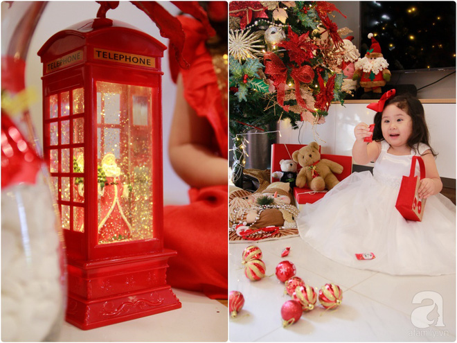 Căn hộ được trang trí Noel đẹp lung linh, món quà của người mẹ tặng con gái ở Q7, Sài Gòn - Ảnh 3.