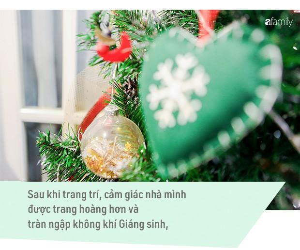 Hai căn hộ được trang trí đậm vị Giáng sinh với chi phí chỉ dưới 10 triệu đồng ở Hà Nội - Ảnh 10.
