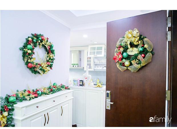 Hai căn hộ được trang trí đậm vị Giáng sinh với chi phí chỉ dưới 10 triệu đồng ở Hà Nội - Ảnh 2.