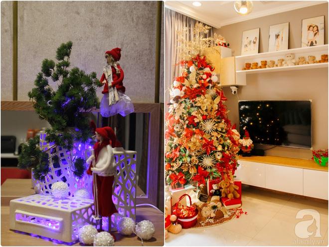 Căn hộ được trang trí Noel đẹp lung linh, món quà của người mẹ tặng con gái ở Q7, Sài Gòn - Ảnh 6.