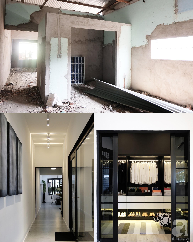 Nhà cấp 4 dột nát, cũ kỹ bỗng chốc lột xác cá tính với gam màu đen trắng ở Biên Hòa - Ảnh 2.