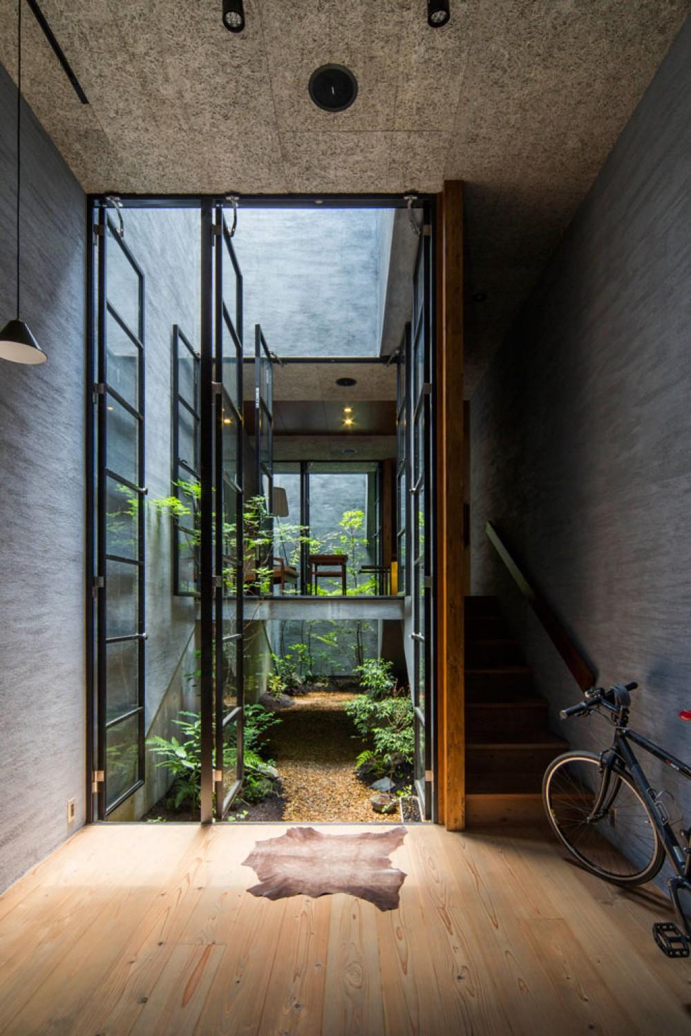 Căn nhà ống kín như bưng nhưng bên trong lại tràn ngập ánh sáng tự nhiên đến khó tin ở Nhật - Ảnh 6.