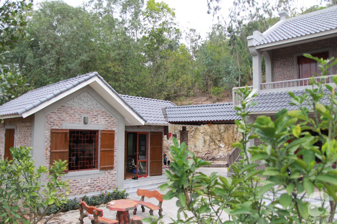 Ngôi nhà vườn hoài cổ với mái nhuốm màu thời gian bình yên giữa núi đồi Bắc Ninh - Ảnh 5.