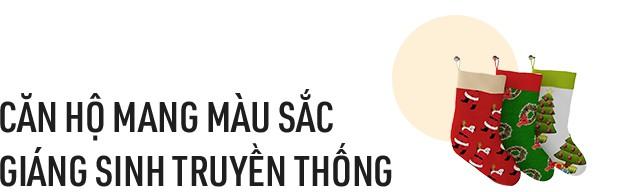 Hai căn hộ được trang trí đậm vị Giáng sinh với chi phí chỉ dưới 10 triệu đồng ở Hà Nội - Ảnh 3.