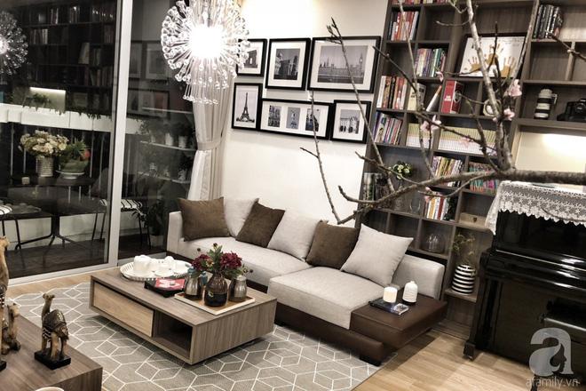 Tận hưởng cuộc sống đúng nghĩa trên tầng cao trong căn hộ nhỏ 72.6m² đẹp như căn hộ mẫu ở Hà Nội - Ảnh 3.