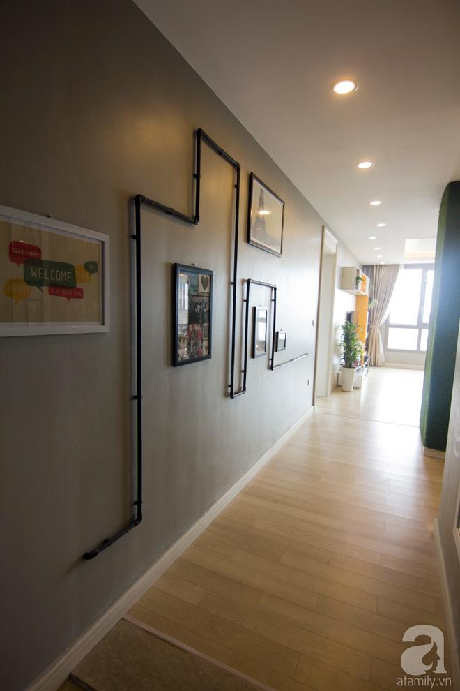 Căn hộ 83m² thoáng mát và ấn tượng với chi phí thi công 100 triệu đồng ở Hà Nội - Ảnh 6.