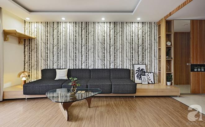 Với 350 triệu, căn hộ ở quận Thanh Xuân đã lột xác hoàn toàn theo yêu cầu rẻ, đẹp, hiện đại của gia chủ - Ảnh 3.