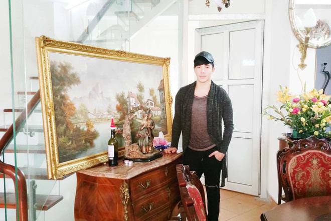 Chiêm ngưỡng ngôi nhà dát vàng triệu đô của nam ca sĩ Nathan Lee ở Hà Nội - Ảnh 4.