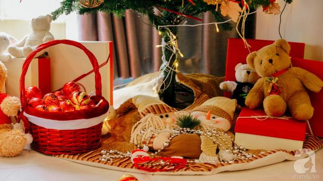 Căn hộ được trang trí Noel đẹp lung linh, món quà của người mẹ tặng con gái ở Q7, Sài Gòn - Ảnh 8.