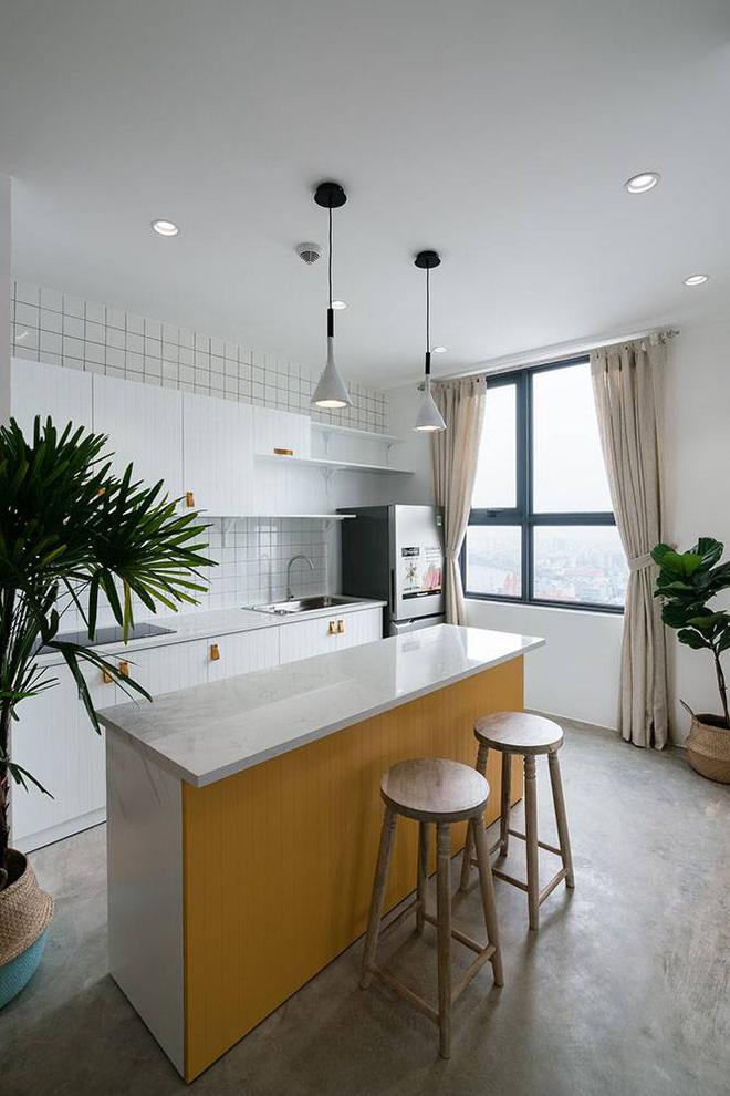 """Sài Gòn: Căn hộ đẹp hài hòa với hai màu trắng – vàng của cô nàng 9x """"phải lòng"""" phong cách tối giản - Ảnh 4."""