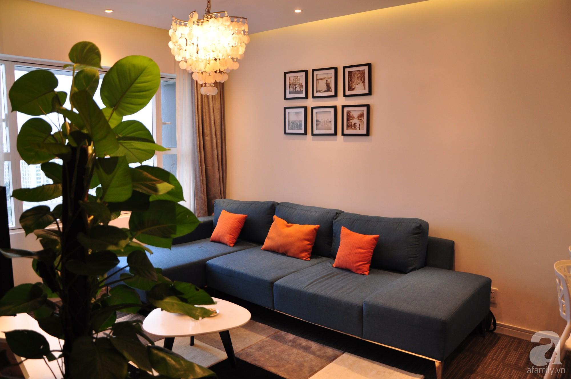 Căn hộ nhỏ 55m² ở quận 7, Sài Gòn nổi bật phong cách tận hưởng cuộc sống do anh chàng độc thân tự tay bố trí nội thất - Ảnh 2.