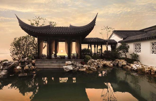 Mê mẩn trước căn biệt thự đẹp như chốn bồng lai tiên cảnh của tỷ phú Jack Ma - Ảnh 12.