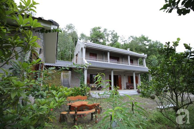 Ngôi nhà vườn hoài cổ với mái nhuốm màu thời gian bình yên giữa núi đồi Bắc Ninh - Ảnh 4.