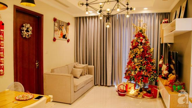 Căn hộ được trang trí Noel đẹp lung linh, món quà của người mẹ tặng con gái ở Q7, Sài Gòn - Ảnh 4.
