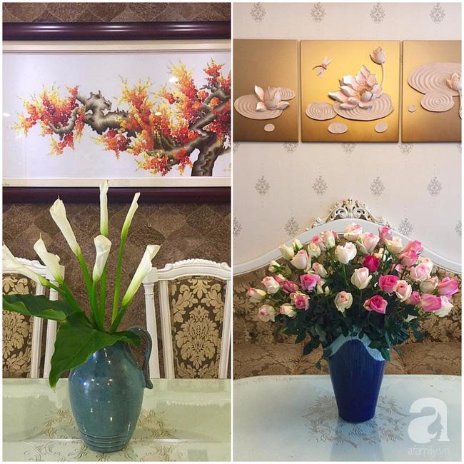 Ghé thăm căn hộ đẹp bình yên, trong trẻo đến lạ thường của người phụ nữ yêu hoa ở TP HCM - Ảnh 3.