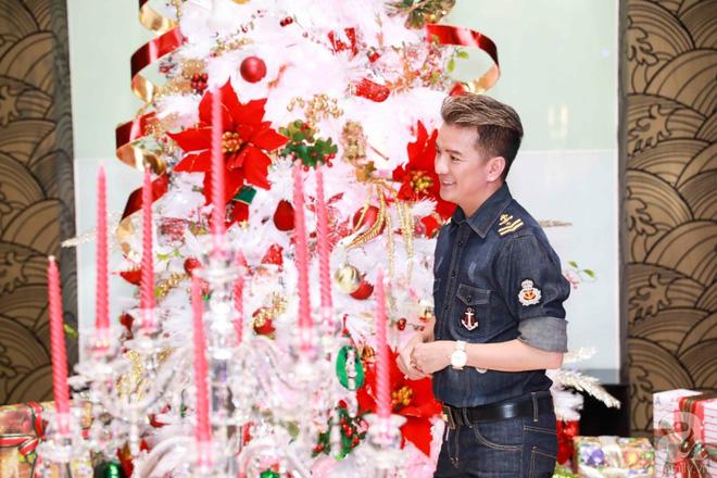 Ngắm biệt thự triệu đô của Đàm Vĩnh Hưng được trang trí đẹp lung linh đón Noel về - Ảnh 13.