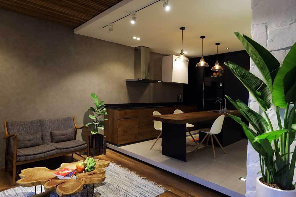 Sau cải tạo, căn hộ 68m² ở Hà Nội này đã trở thành không gian sống kiểu mẫu của nhiều gia đình trẻ - Ảnh 3.